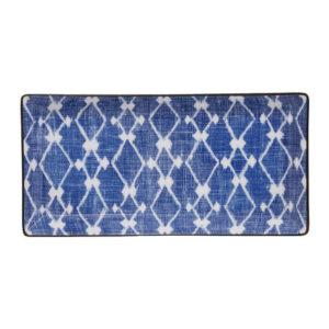 Shibori Rectangular Plate - 23x11.5cm