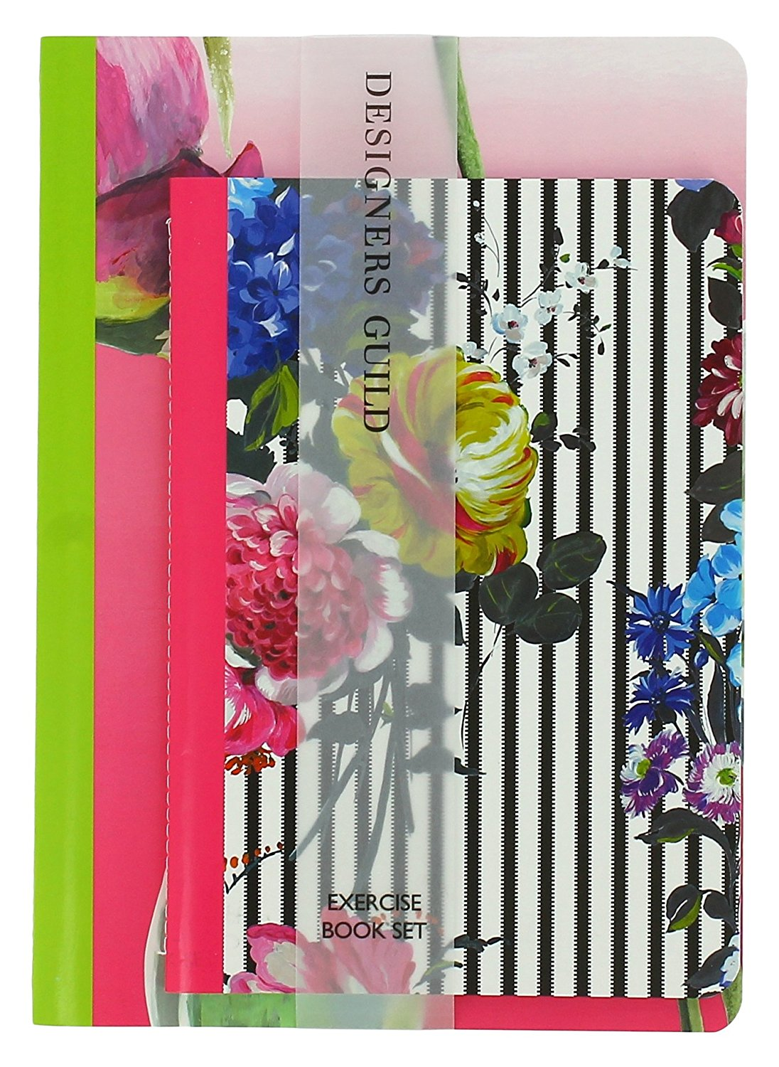 Designer's Guild Exercise Book Set - Fabulous bright summer florals at their best. More of the blog post...