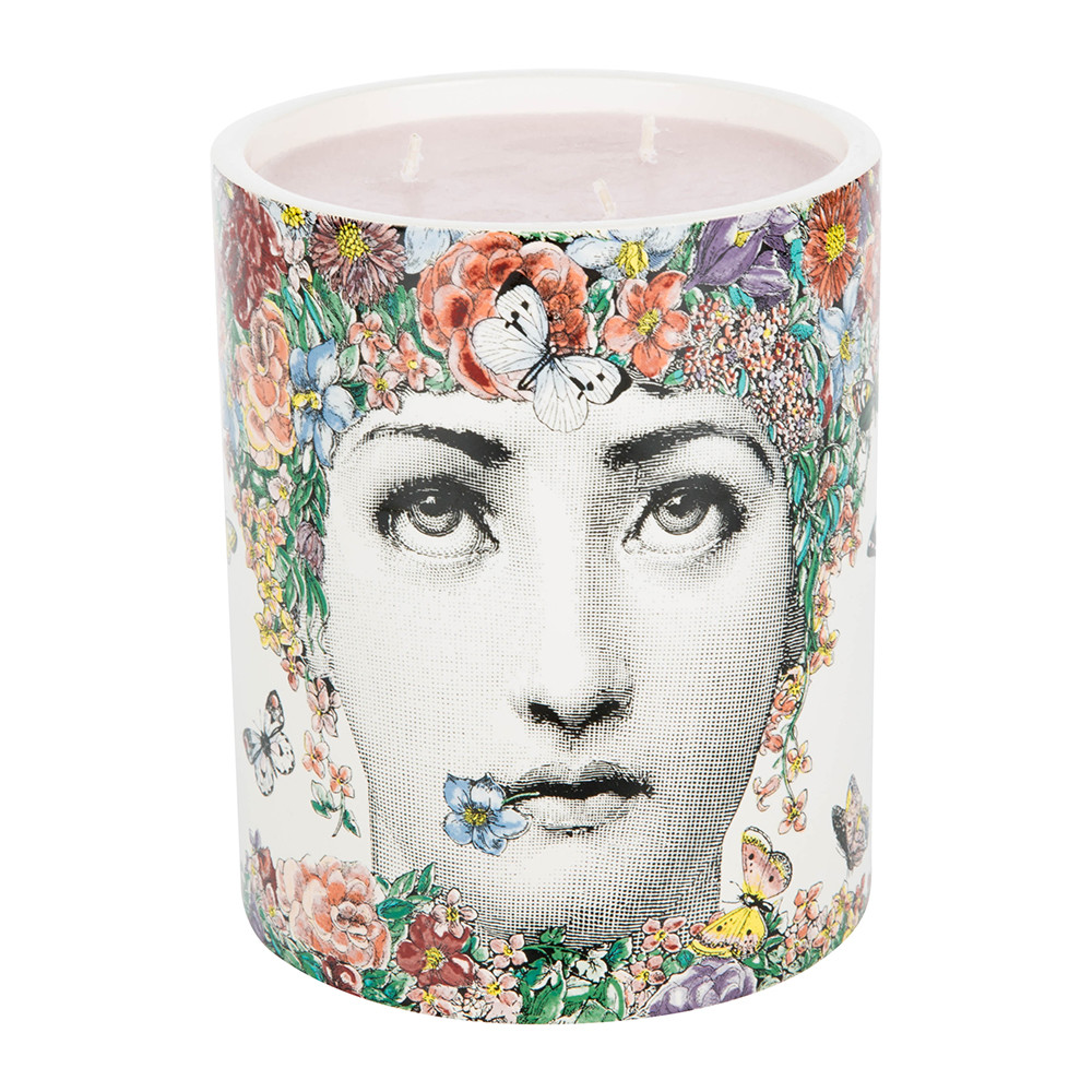 Fornasetti - Fior Di Lina Scented Candle - perfect for bright summer floral styling in your home. More of this vibrant gorgeousness on the blog...