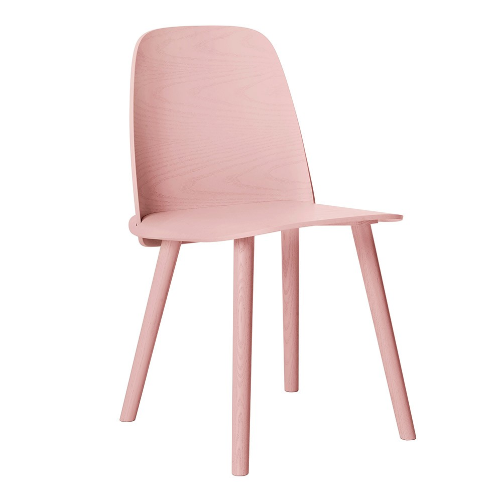 Muuto - Nerd Chair in Rose is a gorgeous piece if you're looking to achieve a Millennial Pink aesthetic. For more on this hot interior design and fashion trend, click on the blog post...