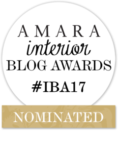 Girl About House has been nominated for 'Best Newcomer' blog at the Amara Interior Blog Awards 2017. This is a really big deal for GAH, being such a new interior design blog. Click on the link for loads of interior design ideas, amazing product recommendations and inspirational looks. #iba17