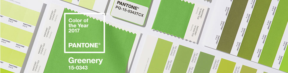 Greenery - Pantone's Colour of the Year. Proof that brights are back. More vibrancy on the blog - click on post for more...