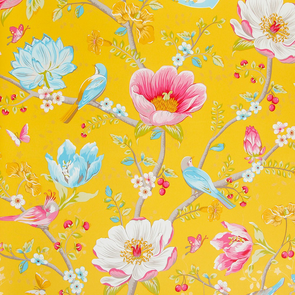 PiP Studio's vibrant, yellow wallpaper is totally uplifting and would add a vibrant flavour to any interior scheme. Click on the blog post for more summer floral bights and a gorgeous edit of the best blooms around.