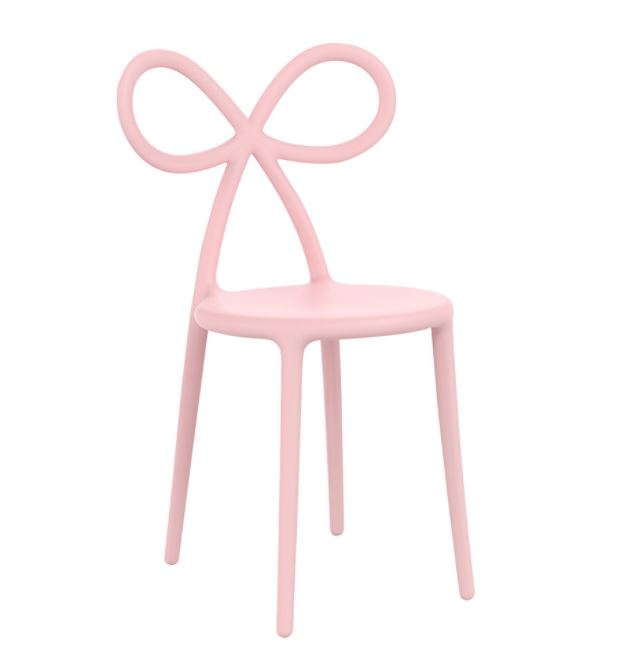 Qeeboo - Ribbon Chair in Pink is a gorgeous piece if you're looking to achieve a Millennial Pink aesthetic. For more on this hot interior design and fashion trend, click on the blog post...