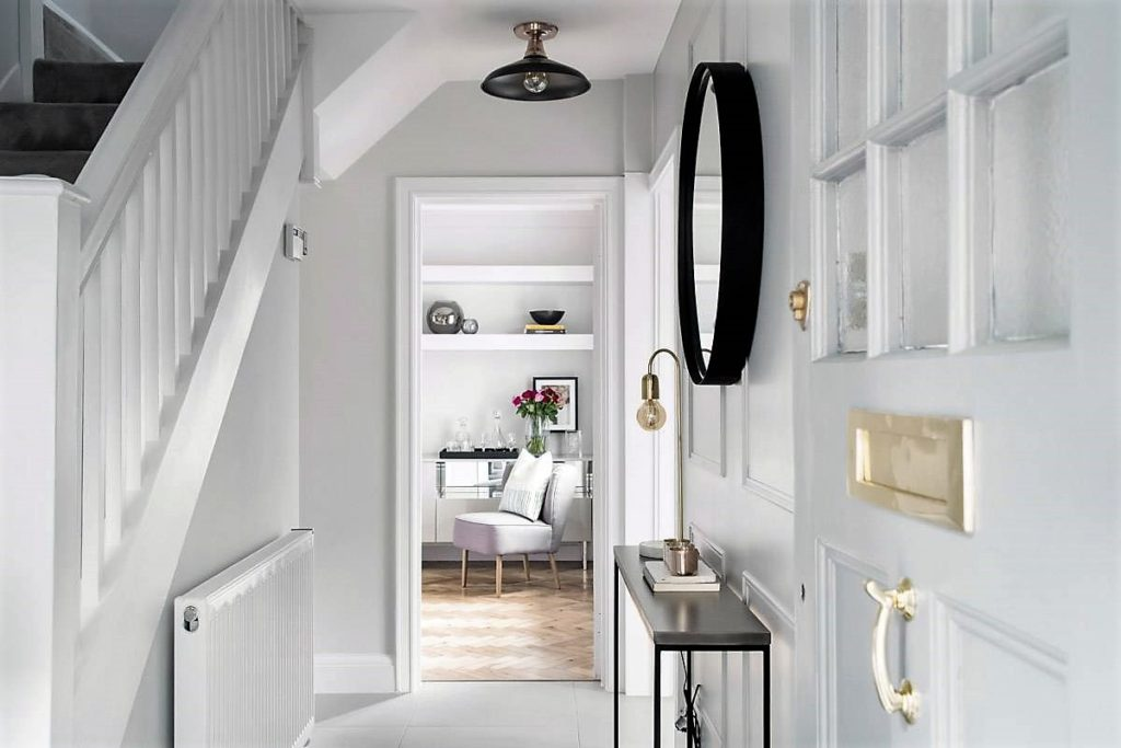 A London Hallway Scheme I Designed At Sarah Mailer Design Image Source