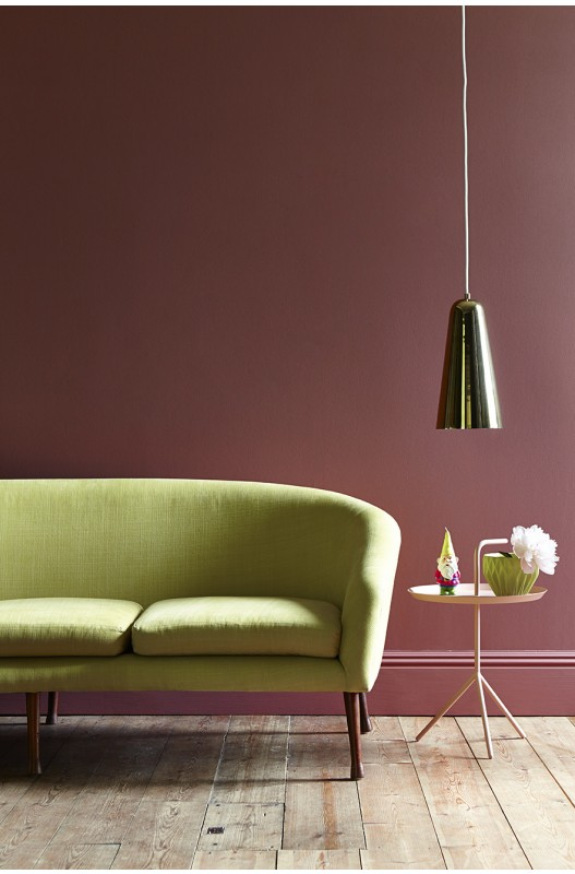 This Little Greene Image Showcases How The Right Wall Colour Can Give Your  Space Real Finesse. Here Theyu0027ve Paired A Warm Rose Shade With Citrus  Accents