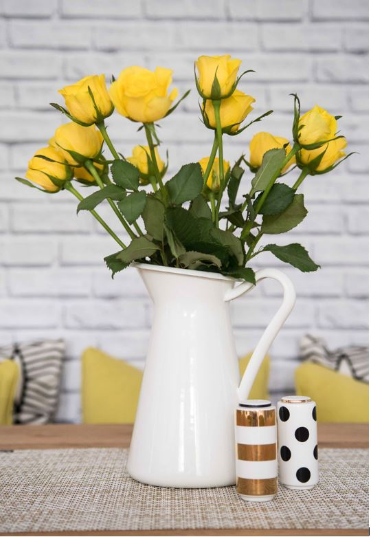 Flowers can add an instant boost into your interior space. They are quite personal - we all have our favourites - so add some instant individualism too. Click on the link to discover more tips and interior design secrets on the GIRL ABOUT HOUSE blog.