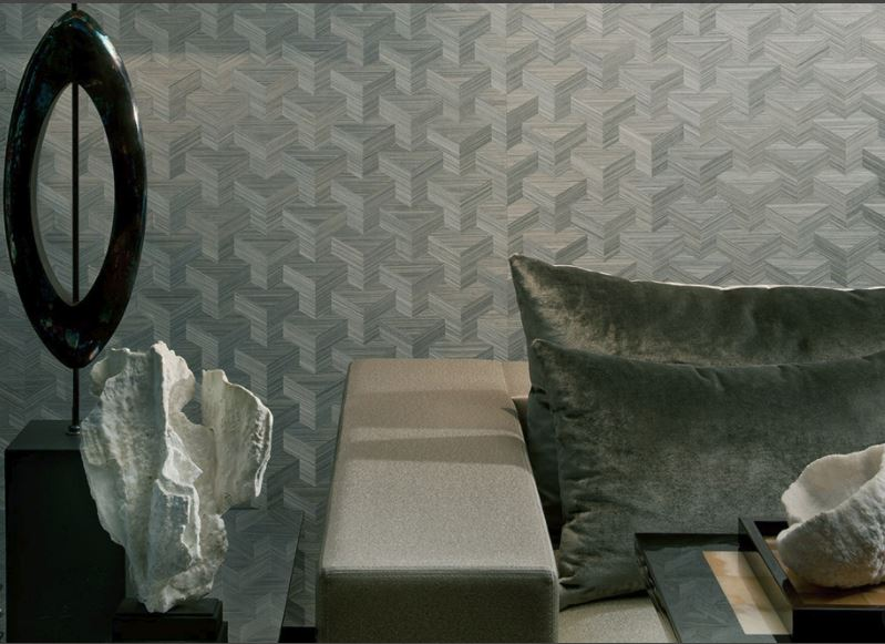Textural wallpaper has made a total comeback and looks anything but dated. Explore woven grass-clothes, new-season flocked and embossed or gorgeous beaded finishes. For more ideas and advice on both textural wall-coverings and other hot new season wallpaper trends, click on the article link...