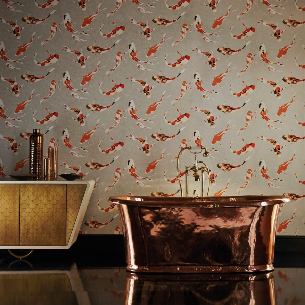 Chinoiserie wallpaper has made a total comeback and feels so fresh and exciting in new colourways and mixed metallics. For ideas and advice on both chinoiserie wall-coverings and other hot new season wallpaper trends, click on the article link...