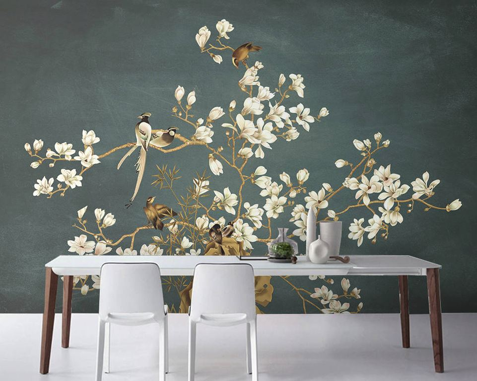 Eastern-inspired wallpaper has made a total comeback and feels so fresh and exciting in new colourways and mixed metallics. For ideas and advice on both Eastern wall-coverings and other hot new season wallpaper trends, click on the article link...
