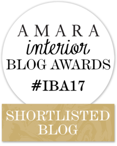 Girl About House is in the final of the Amara Interior Blog Awards 2017!