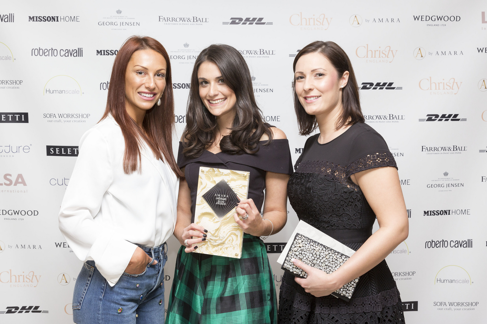 The Amara Interior Blog Awards '17 winners' photo. It was a total honour to attend such a prestigious and glamorous industry event. I am so delighted to have won 'Best Newcomer Blog' and thank you for all the support! #iba17