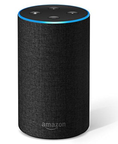 Festive Gift - Amazon Echo (2nd Generation) Charcoal Fabric