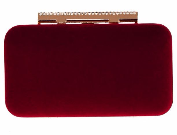 Festive Gift - Coast - Belline Velvet Clutch Bag
