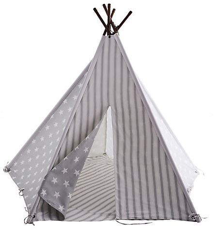 Great Little Trading Company - Teepee - Grey Star