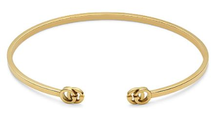 Festive Gift - Gucci - Double G 18ct Gold Cuff