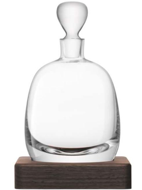 Festive Gift - LSA - Whiskey Islay Decanter & Walnut Base