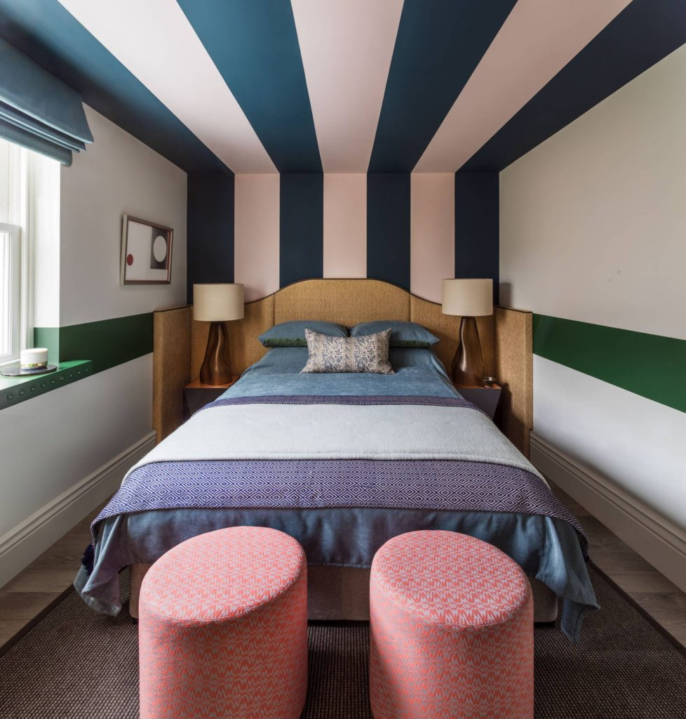 Holiday House London - Roselind Wilson Design 'Striped Night'