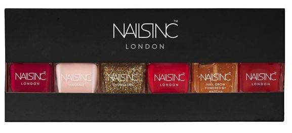 Festive Gift - Nails Inc - Black Friday 6 Piece Xmas Gift Set