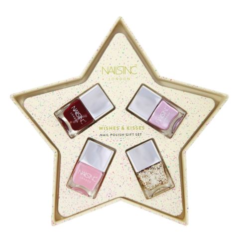 Festive Gift - Nails Inc - Wishes & Kisses Nail Polish Gift Set
