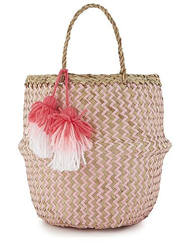 Festive Gift - Sunuva - Woven Basket Tote
