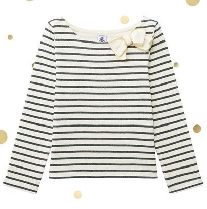 Festive Gift - The Petit Bateau Shiny Sailor Top