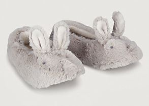 Festive Gift - The White Company - Pixie Bunny Slipper - Mink