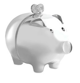 Festive Gift - Vera Wang for Wedgwood - Infinity Piggy Bank