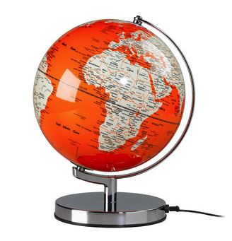 Wild & Wolf - Globe Light in Goldfish Orange