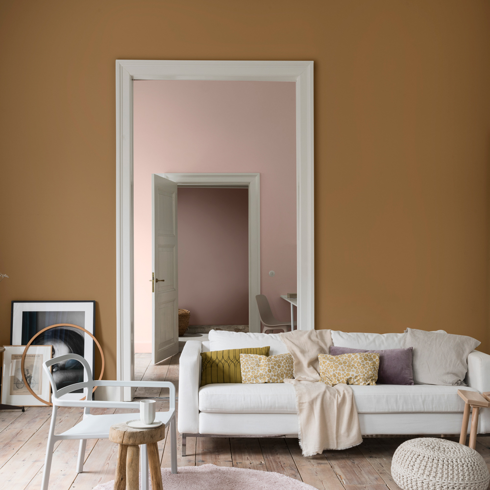 SPICED HONEY: 3 FRESH WAYS TO STYLE DULUX'S 'COLOUR OF THE