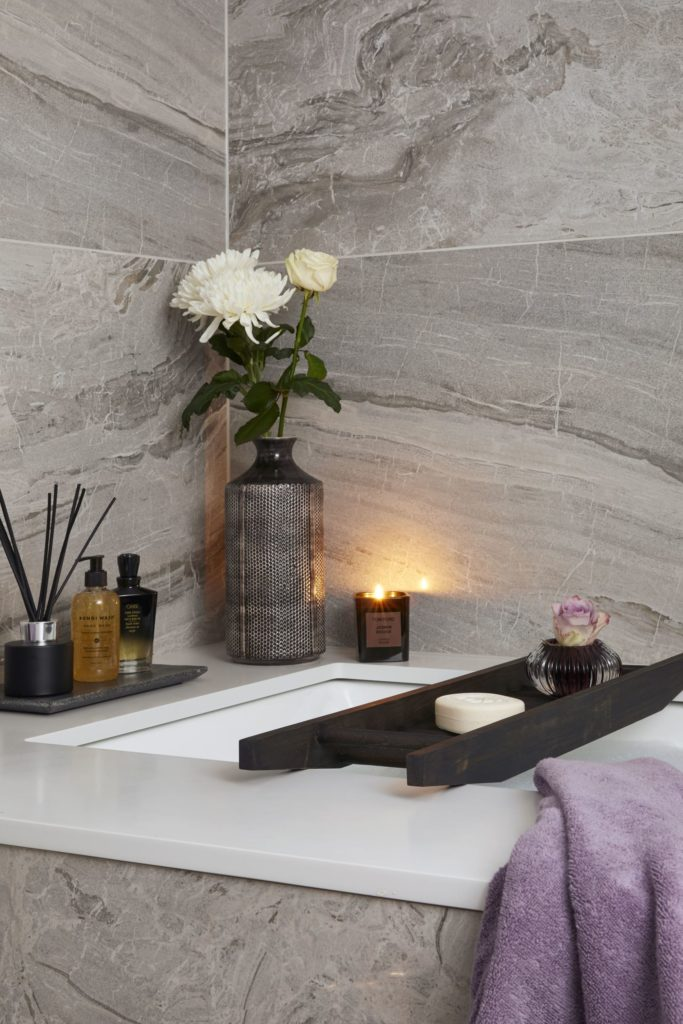 Creating the luxury spa retreat bathroom at home: Achieving a sense of 'luxury spa', is about both the look and feel.  A space that appeals to, and engages, all the senses. Somewhere offering ambiance above all - that soothes and feels deliciously 'zen'.