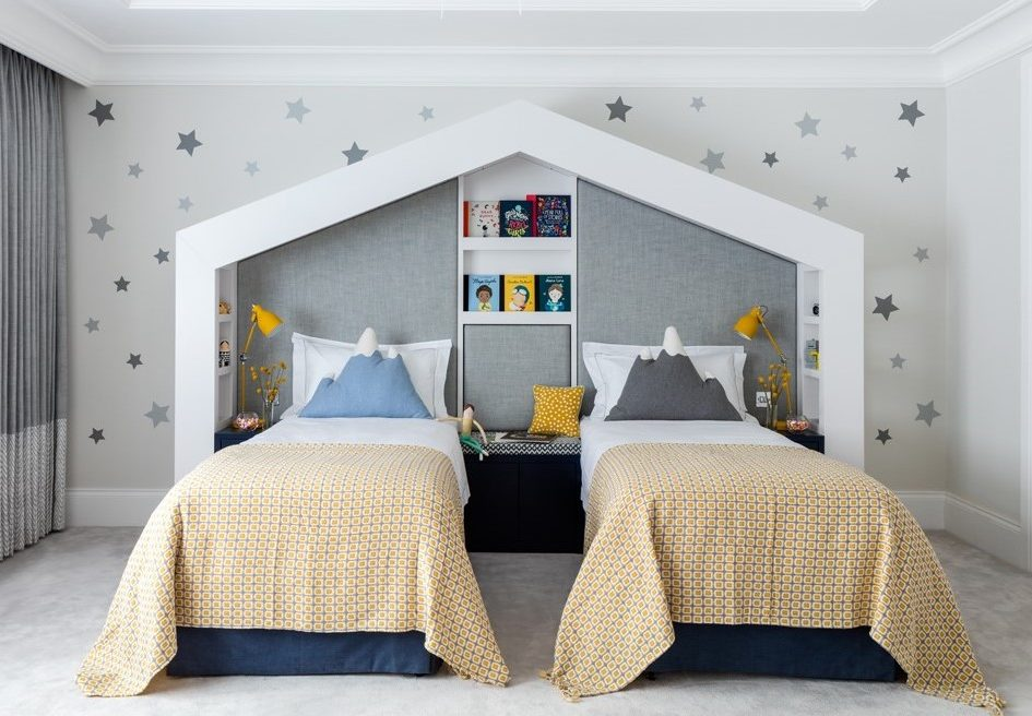 Designing a children's bedroom? Go hard or go home! Alternatively,go to sleep, go and play, go and do your homework - there are many plates to spin to ensure the space works both visually and functionally.