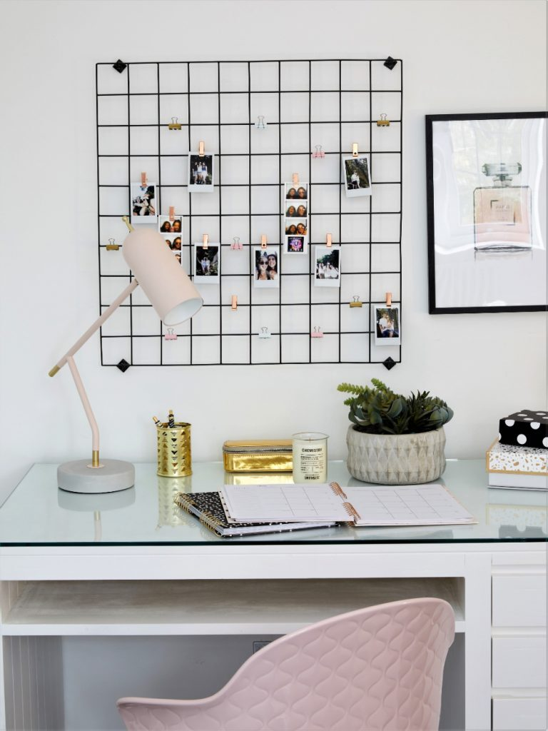 Desk location should be a key consideration when planning your home office. If you are a laptop-and-go person, then a desk installed centrally in the room could work well, if you have the space and are happy to command it.