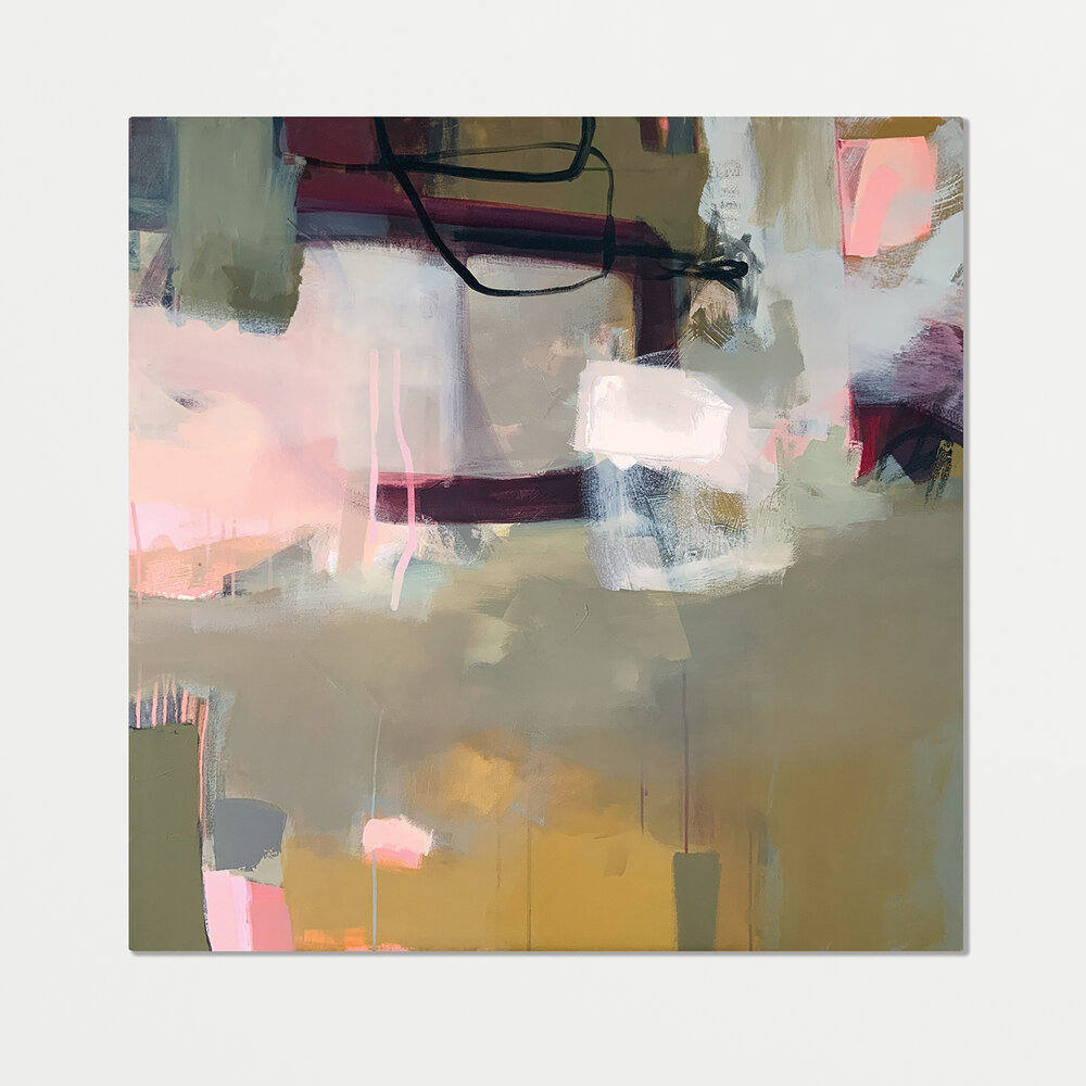 Wall art: Kate's abstract paintings have the most beautiful sense of composition, her brushwork intentional and intuitive. Kate works across several palettes - all of which would serve as a fantastic springboard for any interior scheme.