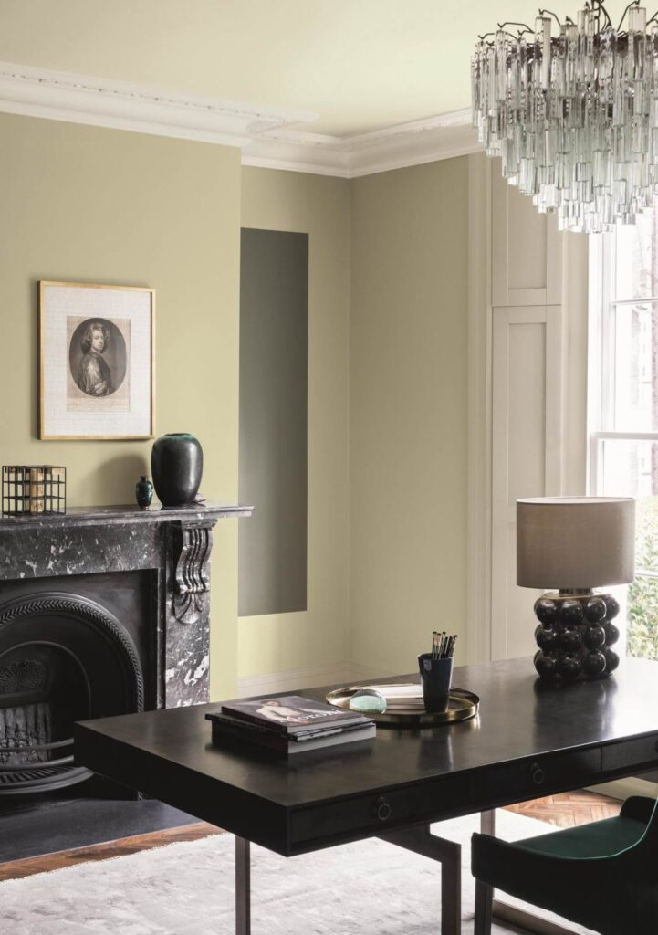 Pale doesn't mean have to mean dull as the movement of dark, dramatic walls may have led us to believe. From soft nudes and lavenders to green-greys, just the subtlest hint of colour can go a long way and still feel pretty neutral.